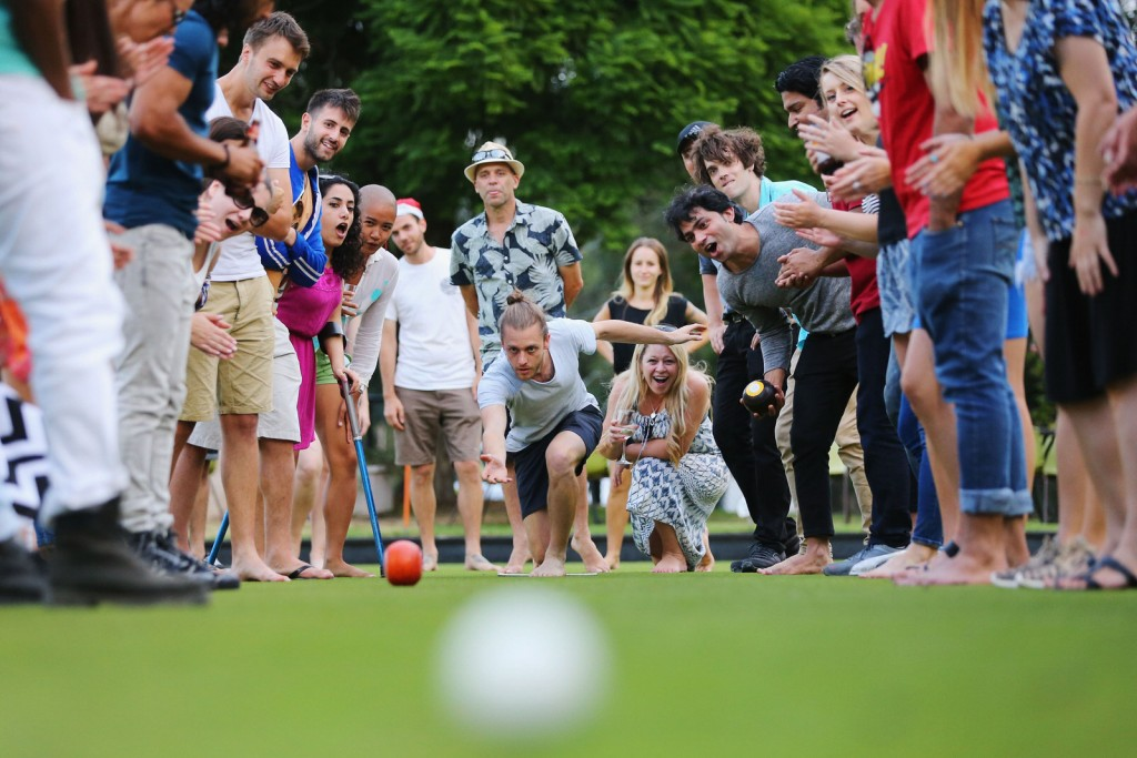 Group-Enjoying-a-Game-of-Lawn-Bowls