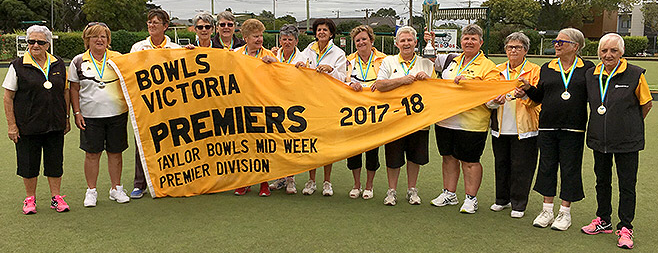 Ladies 2017 Premiership Flag